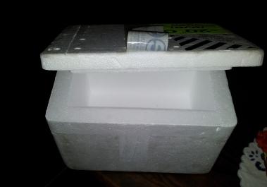 Caixa esferovite